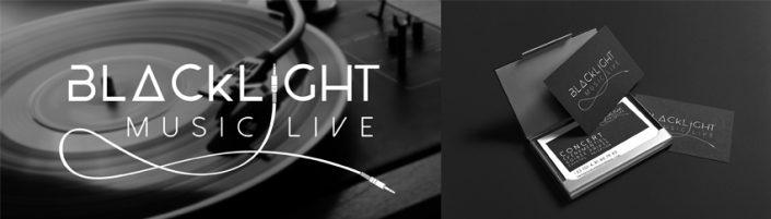 Conception graphique identité visuelle pour Blacklight