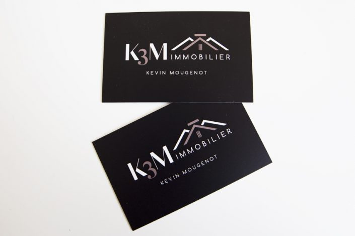 Carte De Visite K3m Immobilier Communication