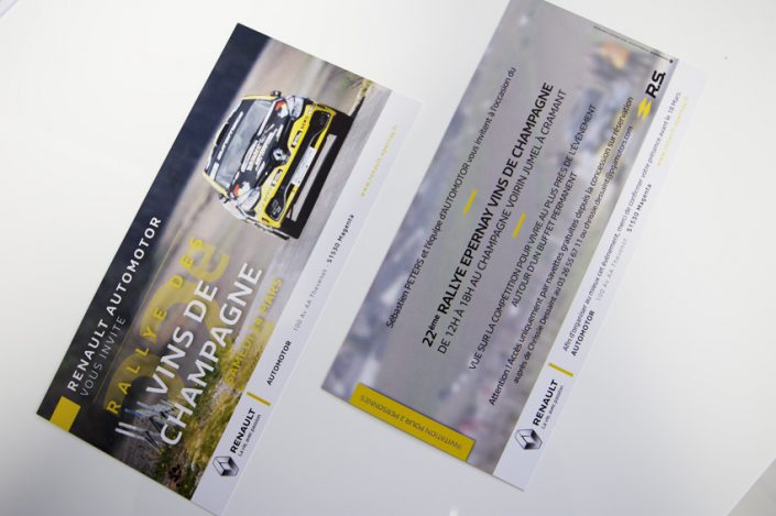 flyer renault automotor impression communication