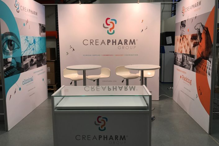 stand creapharm group communication salon expo foire