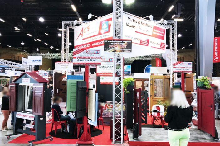 stand panneaux salon foire expo signalétique communication publicité