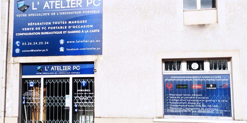 enseigne panneau dibond marquage adhésif microperforé atelier PC signalétique communication publicité