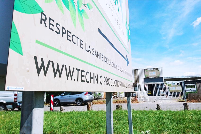 panneau enseigne luma technic production signalétique communication publicité