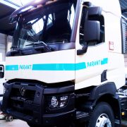 marquage véhicule marquage poids lourd adhésifs Parant communication publicité