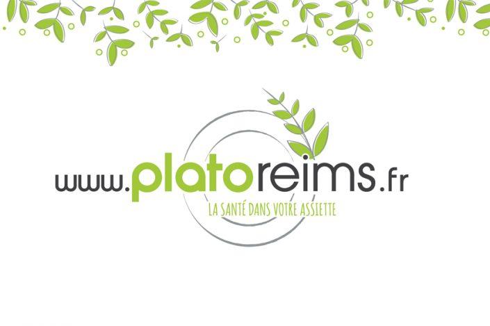conception graphique refonte logo charte graphique identité visuelle plato reims design communication publicité