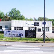 enseigne panneau dibond vl auto 51 auto automobile signalétique communication publicité