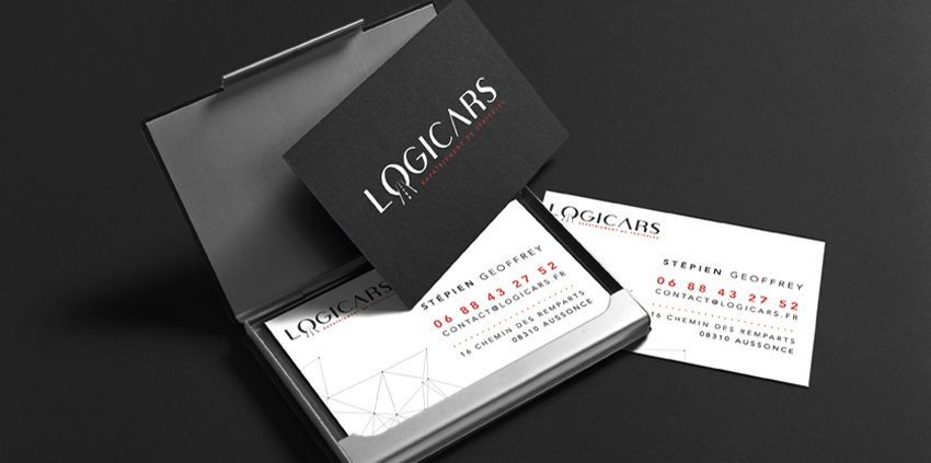 conception graphique création graphique identité visuelle charte graphique logo Logicars design communication publicité