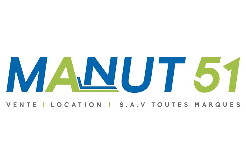 conception graphique refonte charte graphique logo identité visuelle Manut 51 design communication publicité
