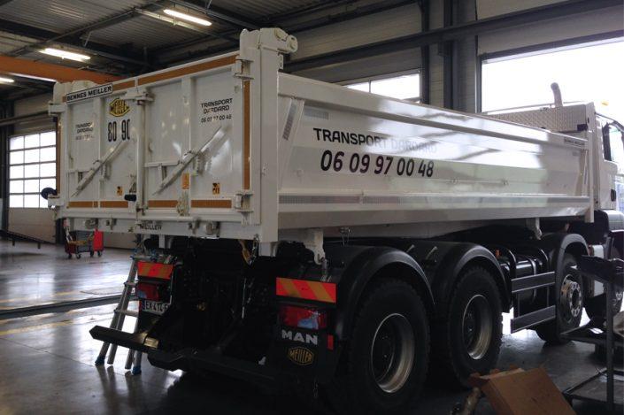 marquage véhicule camion dardard adhésifs communication reims publicité