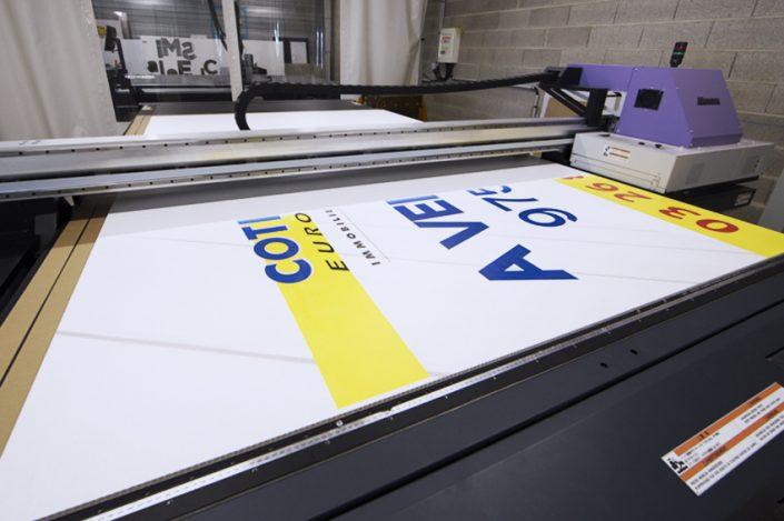 impression panneau grand format 3x2 m encre latex mimaki jfx 500-2131 imprimante communication signalétique publicité