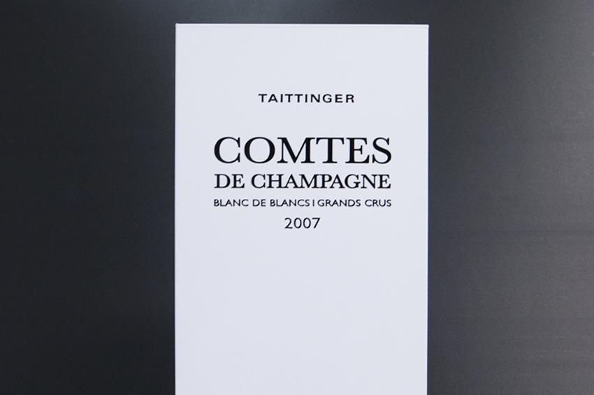 présentoir totem champagne taittinger signalétique communication publicité