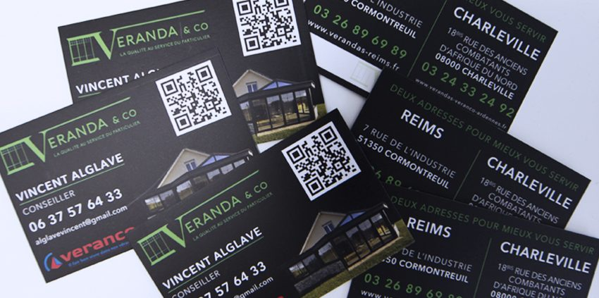 Cartes De Visite Veranda Co