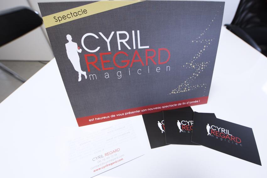 Plaquettes Et Cartes De Visite Cyril Regard