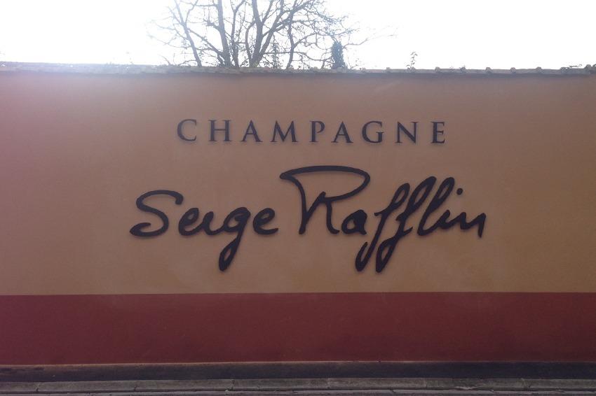 enseigne champagne Serge Rafflin