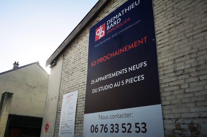 panneau demathieu bard immobilier reims signalétique