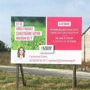 panneaux foyer rémois construction immobilier communication reims publicité