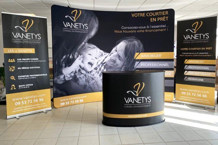stand vanetys salon expo foire signalétique communication reims publicité